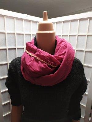 Schlauchschal Stoffschal S.Oliver pink Fuchsia