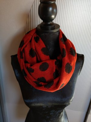 No1 Mode Express Tube Scarf red-black