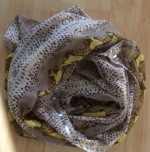 Codello Tube Scarf taupe-beige polyester