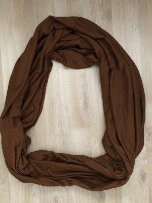 Zara Bufanda tubo marrón