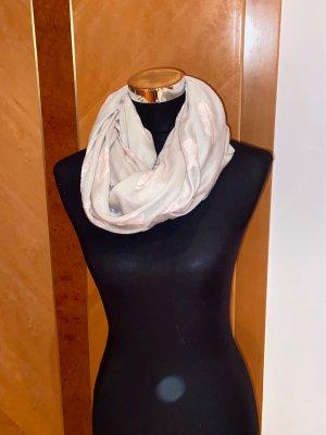 H&M Apaszka szaro-brązowy-stary róż Poliester