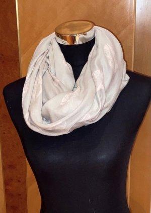 H&M Foulard gris brun-vieux rose polyester