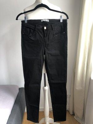 Schliche Jeanshose | Schwarz