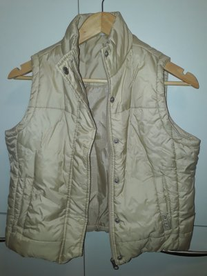 Colours of the World Quilted Gilet beige polyester