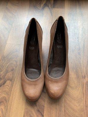 5th Avenue Zapato Tacón marrón claro