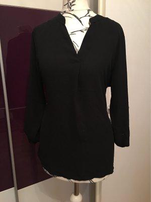 Amisu Lange blouse zwart