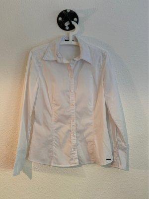 Schlichte weiße Bluse von Zero in Gr,38