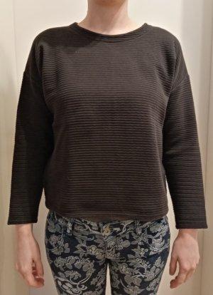 24Colours Crewneck Sweater black cotton