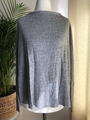 Schlichter Pullover | Leicht | Hellgrau