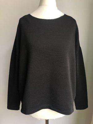 Schlichter Pullover   Schwarz