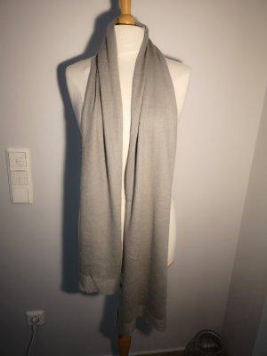 Martucci Sciarpa in cashmere grigio chiaro