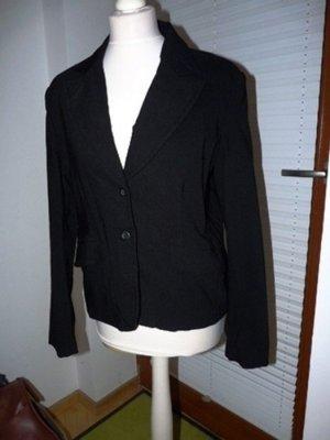 Schlichter schwarzer Blazer gr 42