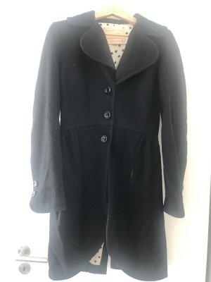 Denny Rose Geklede jas zwart
