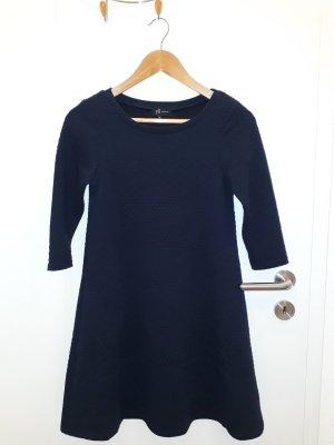 Reserved Stretch jurk donkerblauw Polyester