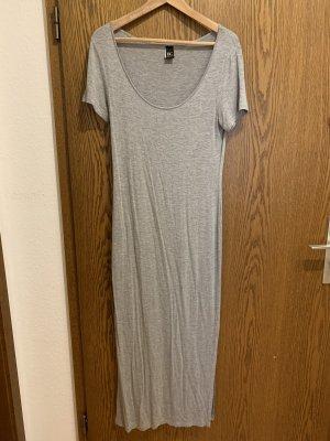 Schlichtes, langes Kleid von Best Connections, grau, Gr. 38