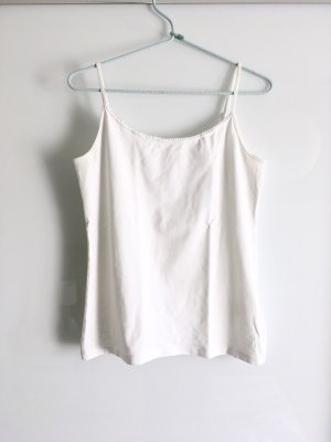 Schlichtes weißes Basic Top H&M Logg