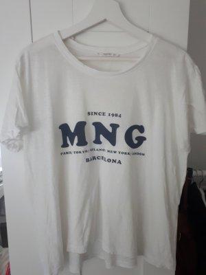 Schlichtes weißes T-Shirt