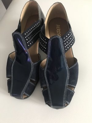 Aerosoft Slip-on Shoes dark blue