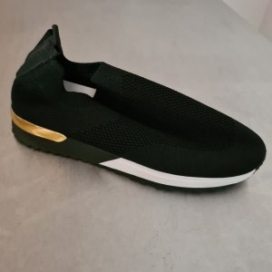 Slip-on Sneakers black-gold-colored