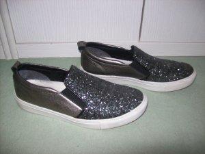 Schlüpfsneaker bronze/grau von Tamaris