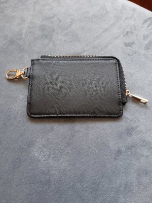 Card Case black-gold-colored