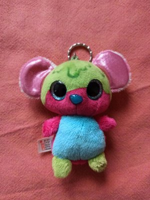 Nici Key Chain pink-green
