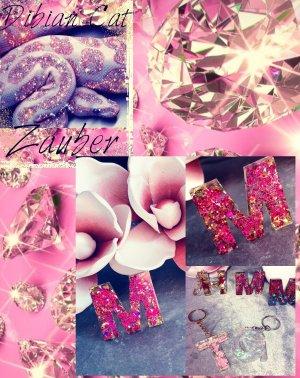 Sleutelhanger roze-goud