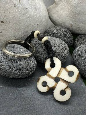 Handmade Breloczek do kluczy Wielokolorowy