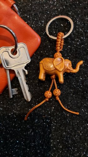 Key Chain light brown