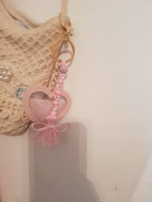 Bid Handmade Key Chain light pink