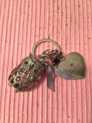 Key Chain silver-colored stainless steel