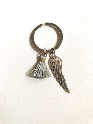 Schlüsselanhänger Flügel & Quaste