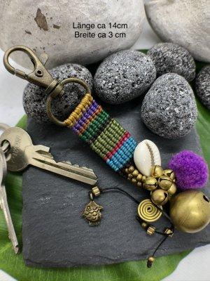 Handmade Portachiavi multicolore