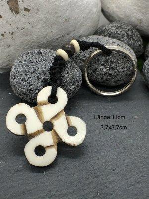 Schlüsselanhänger keltischer Knoten Bone 3,7x3,7cm