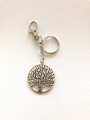 Breloczek do kluczy srebrny
