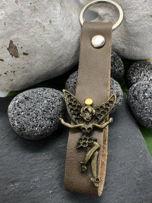 Schlüsselanhänger Leder Elfe 13x3,2 cm
