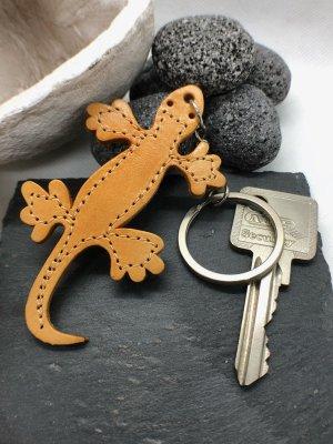 Handmade Breloczek do kluczy jasny pomarańczowy