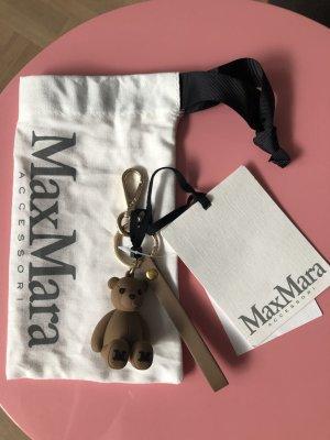 Max Mara Llavero marrón-color bronce