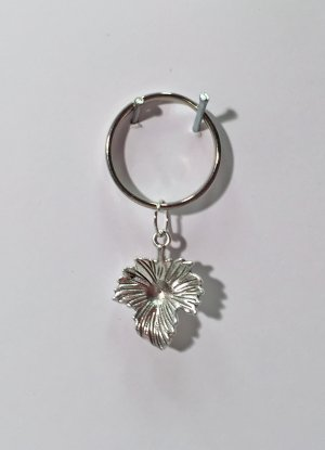 no name Key Chain silver-colored metal