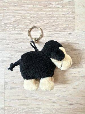 Schlüsselanhänger Plüsch schwarzes Schaf von Nici