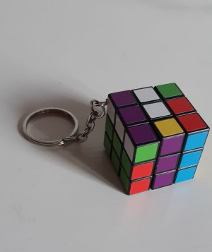 Schlüsselanhänger Rubik Würfel Neu