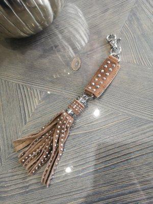 Schlüsselanhänger Tasche Anhänger Echtes Leder