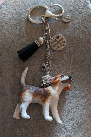 Schlüsselanhänger / Taschenbaumler Beagle, sehr süss!