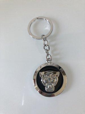 Jaguar Porte-clés argenté-noir