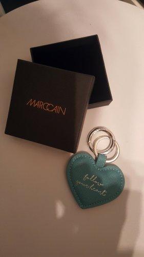 Marc Cain Portachiavi argento-blu fiordaliso