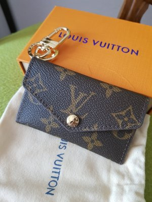 Louis Vuitton Astuccio per chiavi marrone scuro-cognac