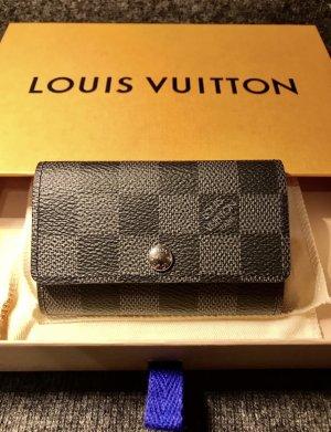 Louis Vuitton Etui voor sleutels grijs-donkergrijs