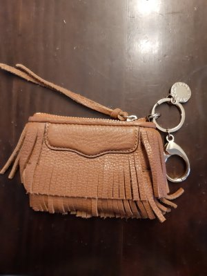 Rebecca Minkoff Key Case gold-colored-cognac-coloured