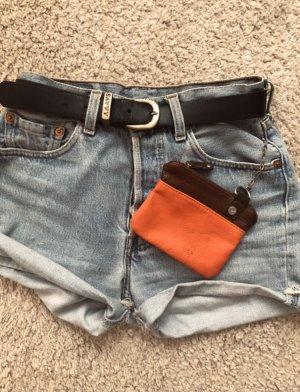 Etui voor sleutels oranje-roodbruin