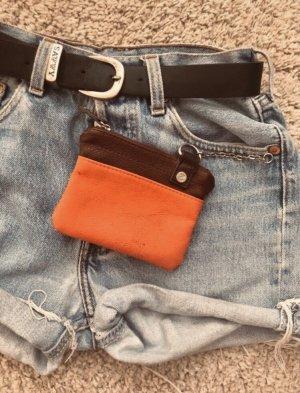 Étui porte-clés orange